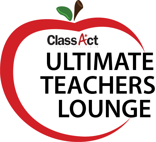 "Logo for Class Act ""Ultimate Teachers Lounge"""