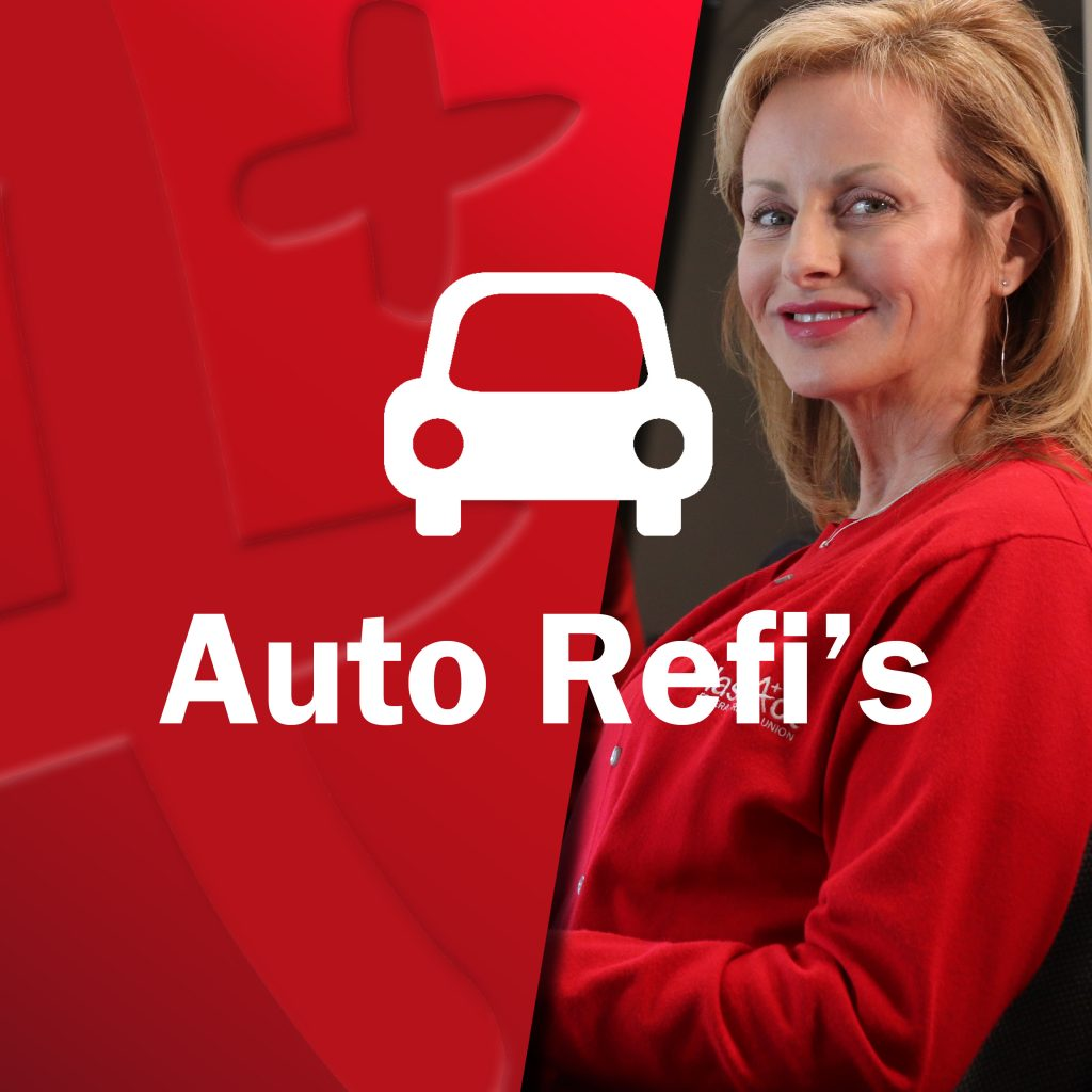 Young Class Act employee woman smiling with car icon - Auto Refi's